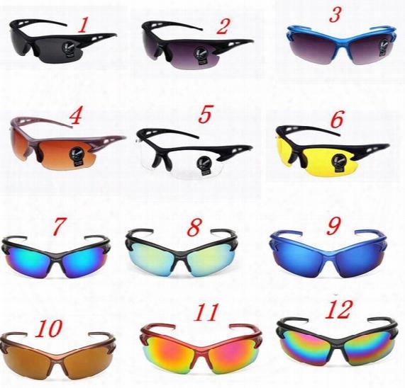 New Style Night Vision Explosion-proof 3105 Sunglasses Men Sports Glasses Bicycle Motor Bike Driving Car Sun Glasses Uv400 Eyewear