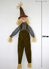 2017 160cm Halloween Scarecrow Dolls Lovely Halloween Gifts Scarecrow Dolls