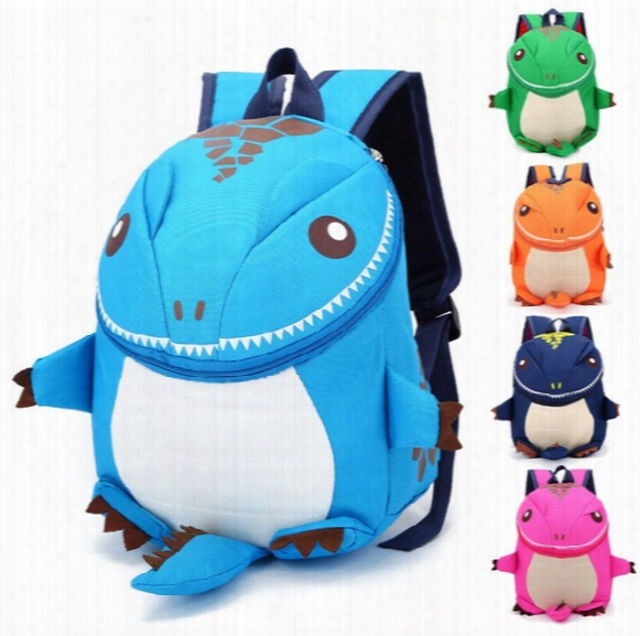 5color The Good Dinosaur Kids Backpack Cartoon Arlo Anti Lost Kindergarten Girls Boys Children Backpack School Bags Animals Dinosaurs Snacks