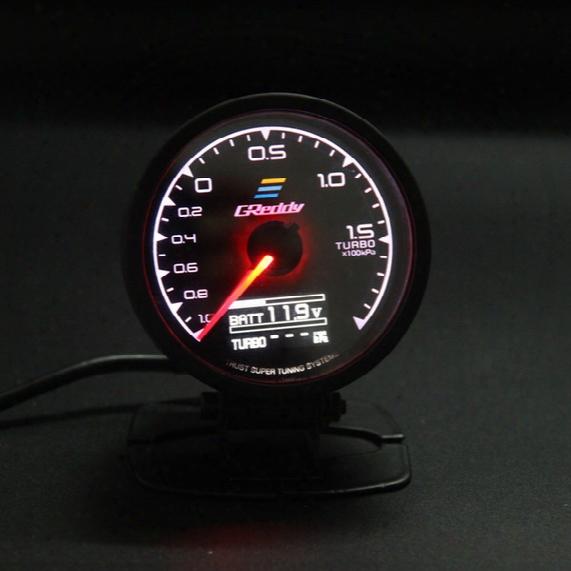 62mm 2.5 Inch 7 Color In 1 Racing Greddy Multi D/a Lcd Digital Display Turbo Boost Gauge Auto Gauge Sensor