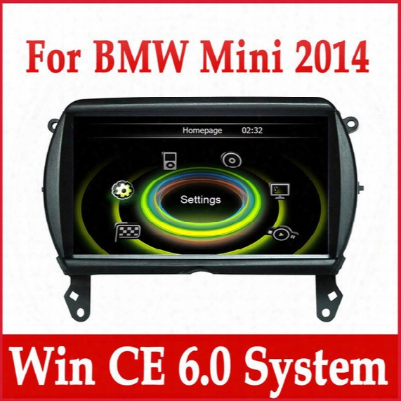 Car Dvd Player Gps Navigation For Bmw Mini Cooper 2014 With Radio Bluetooth Tv Usb Sd Aux Mp3 Auto Audio Video Stereo