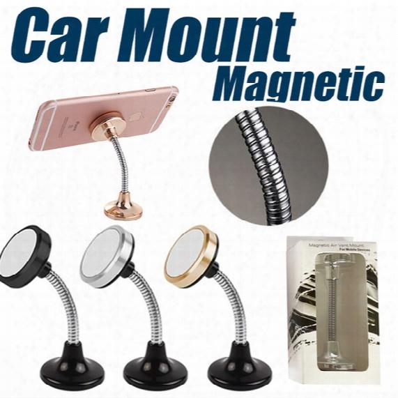 Car Mount, Spring Magnetic Universal Car Mount Phone Holder For Iphone 6/6s,easier Safer Driving