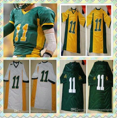 Carson Wentz Ndsu Bison Jerseys. College Football Jersey 100% Stitched Fast Shipping