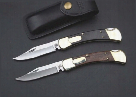 Classic Folding Knife High Quality Buck 110 Double Action Knife Conversions Auto Conversion Knife 2 Options Free Shipping