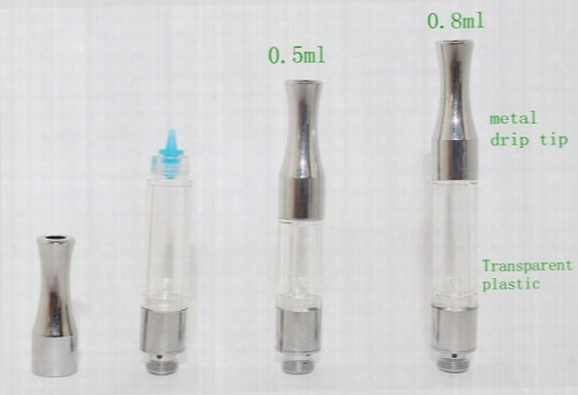 G2 Bud Tank Metal Drip Tip Ce3 Cartridge Vaporizer Wax Atomizer 510 Thread Cartridge O Pen