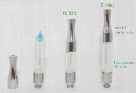 G2 Plastic Tank Bud Metal Drip Tip Ce3 Cartridge Vaporizer Atomizer 510 Thread Cartridge O Pen