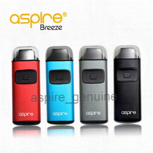 Genuine Aspire Breeze Kit 2ml Ejuice 650mah Battery U-tech 0.6ohm Coil Top Fill Auto-fire Feature Package Excluding Charger Dock