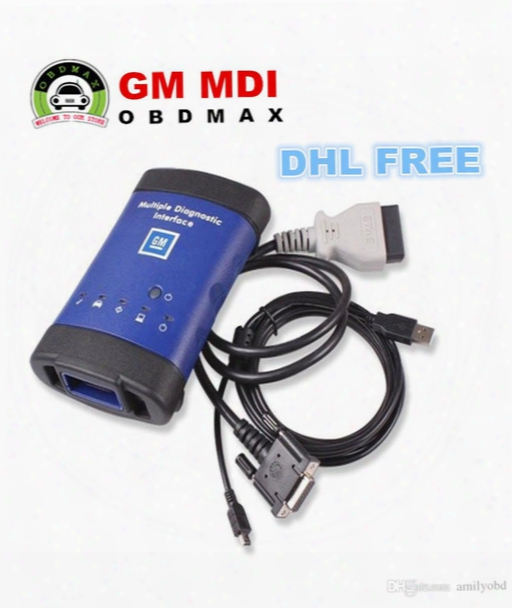 Gm Mdi Scanner Multiple Diagnostic Interface 2017 New Arrivals Gm Mdi Diagnostic Tool With Wifi  Card Mdi Dhl Free