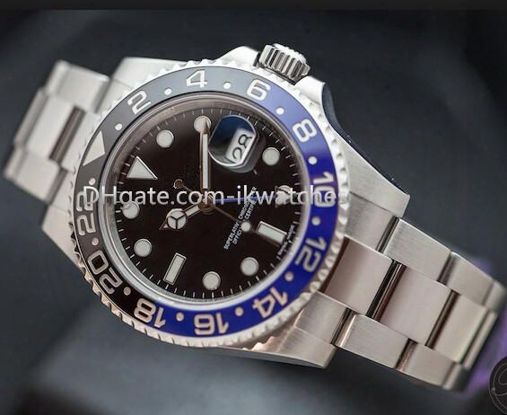 Hot Sale Men's Luxury Watch High Quality Aaa Watches Automatic Steel Wrist Watch Ceramic Bezel Sapphire Glass R46