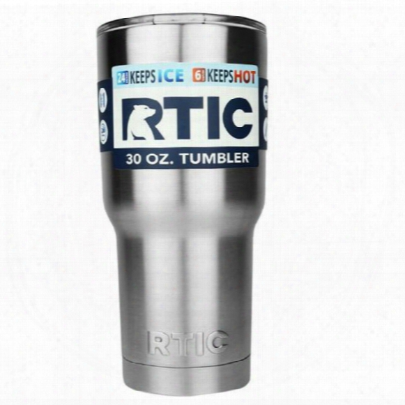Hot Sale Rtic Tumbler Cups 30oz Or 20oz Cars Beer Mug Large Capacity Mug Tumblerful With Vacuum Double Wall Keep Cool Or Hot
