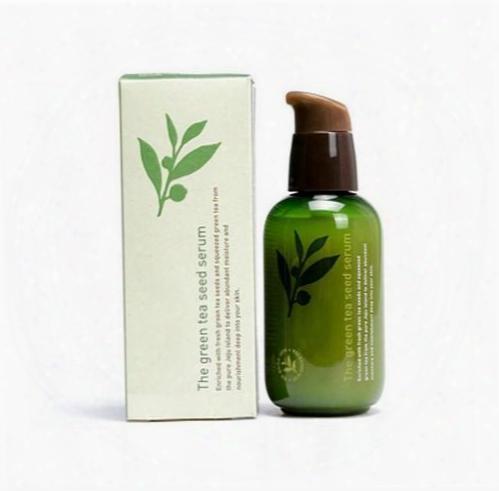 Innisfree Korea Brand Green Bottle Cream The Green  Tea Seed Serum Moisturizing Face Care Lotion 80ml