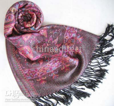 Jacquard Scarf Wrap Shawl Scarves Scarf Shawl 12 Pcs/lot #2061