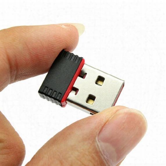 Nano 150mbps Usb Wifi Wireless Adapter Ieee 802.11n G B Mini Antena Adaptors Chipset Mtk7601 Network Card 100pcs Free Dhl