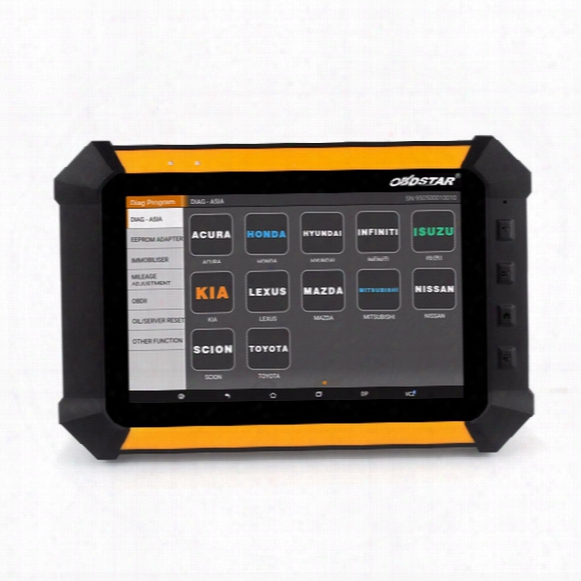 Original Obdstar X300 Dp Pad Full Package With Eeprom Adapter Free Update For 1 Year X 300 Dp Auto Diagnostic Tool