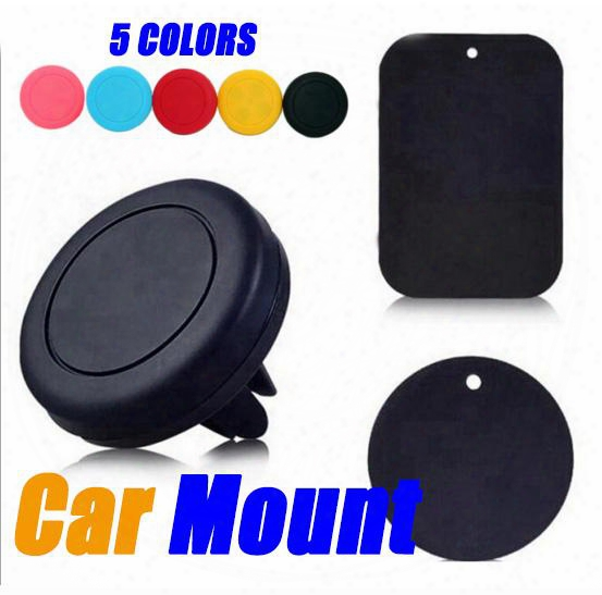 Phone Holder Carair Vent Magnetic Universal Car Mount Phone Holder For Iphone 6/6s, One Step Mounting ,reinforced Magnet