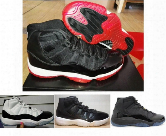 Real Carbon Fiber Retro 11 Bred Concords Gamma Blue 72-10 Basketball Shoes Men Top Quality 11s Carbon Fiber Sneakers With Shoes Box