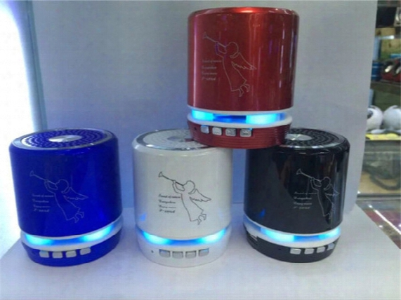 T-2308a Angel Pattern Mini Protable Bluetooth Wireless Speakers Support Tf Card Vs T-2020a Speaker Shower Waterproof Speaker Pill 2 Speakers