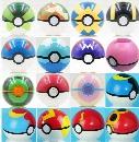 7CM Poke Ball Toys Pokeball Types 21 styles Poke Cosplay Pop-up Master Great Ultra GS Gift Kid Children