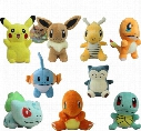 Poke Plush Toys 9-15cm Pikachu Bulbasaur Squirtle Charmander Gengar Cartoon Soft Stuffed Doll Figure Toy 11 Styles OOA1338
