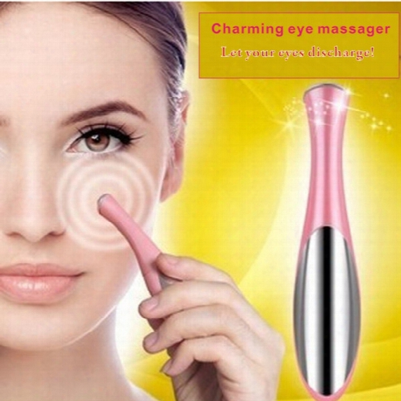 Ultrasonic Ion Import Instrument,eye Massage Instrument, Eye Makeup, Beauty Products Tools, Eye Cream Lotion Care,eye Care,remove Black Eye.