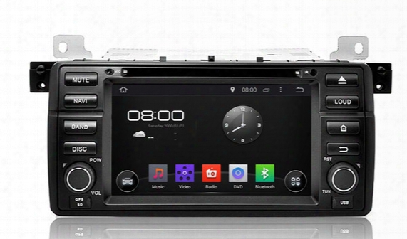 "1024*600 4-core Android 4.4 Hd 1 Din 7"" Car Radio Car Dvd For Bmw E46 M3 1998-2005 With Gps Navigation 3g/wifi Bluetooth Ipod Tv Aux In"
