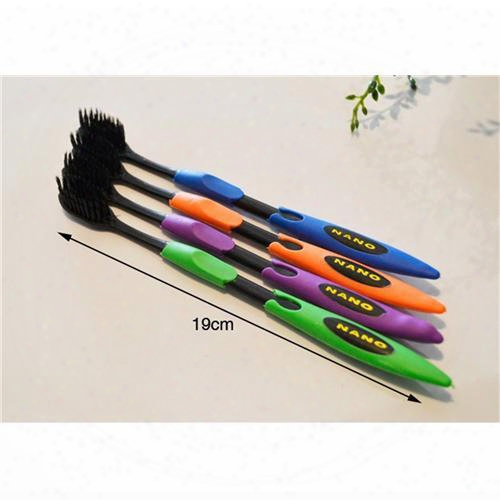 4pcs/lot Bamboo Charcoal Toothbrush Odontologia Wholesale Free Shipping Bamboo Tooth Brush Of Dental Care For Soft Brush