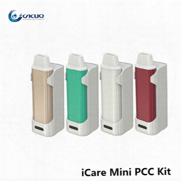Authentic Eleaf Icare Mini Pcc 1.3ml Capacity Built In Tank With 320mah/2300mah Battery Ic Head 1.1ohm
