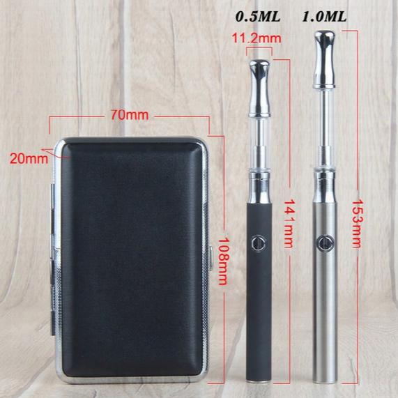 Best Quality Ce3 Vape 350mah 510 Thread Preheating Variable Voltage Battery Ss Glass Oil Vape Cartridges Metal Case Starter Kit