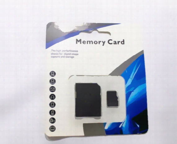 Hot Dhl Ship Class 10 Micro Sd Tf Memory Card With Adapter Retail Package Flash 64gb 128gb Sd Sdhc Cards 100pcs/lot