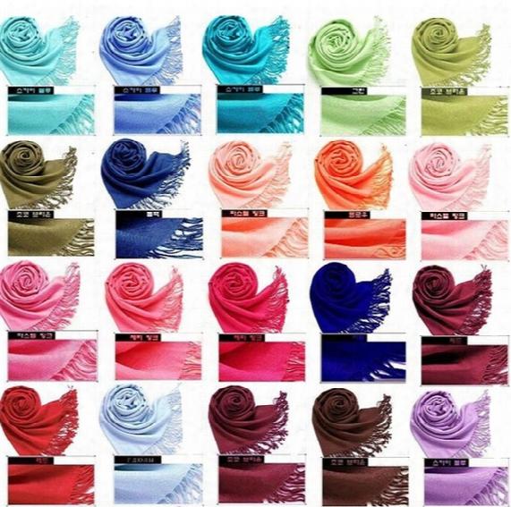 New Free Ship Mix 40 Colors 300pcs/lot Cashmere Scarfs Pashmina Shawl, Scarf Nova Women Scarfs Wraps Scarves 1528