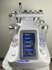 6 in 1 hydra dermabrasion machines blackhead remover ultrasound skin care BIO radio frequency anti aging oxygen spray hydrafacial machine