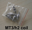 MT3/H2 Replaceable Atomizer Coil 1.8 2.4 2.8 Ohm For MT3 H2 Cartomizer Clearomizer Replacement Detachable Core Head