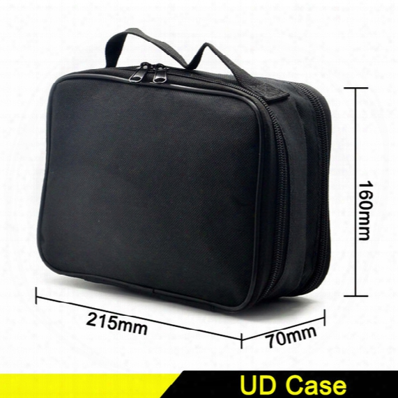 Youde Ud Double-deck Vape Pocket Vapor Tool Kit Bag Clone For Tanks Mods Battery Coils Diy Tools Carry Case Fit Ecigs Device Bag