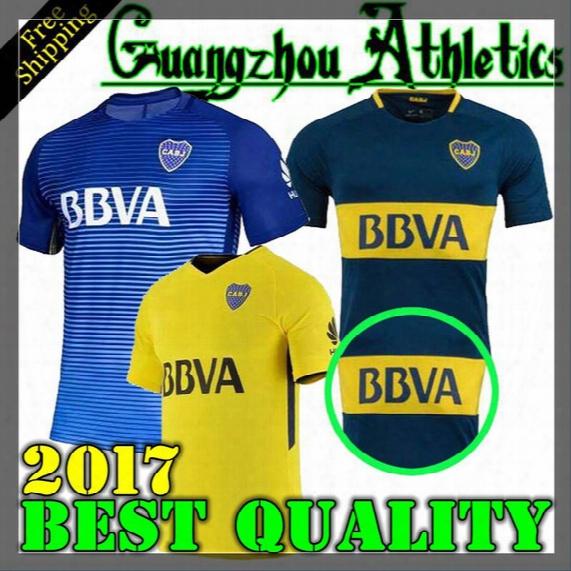 2017 2018 Boca Juniors Jersey Home Away 3rd 17 18 Boca Juniors Gago Osvaldo Carlitos Perez P Shirt