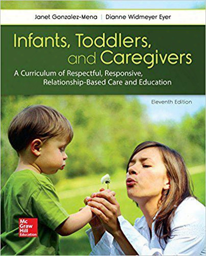 2017 New Book Infantst Toddlers & Caregiver:curriculum Relationship 978-1259870460
