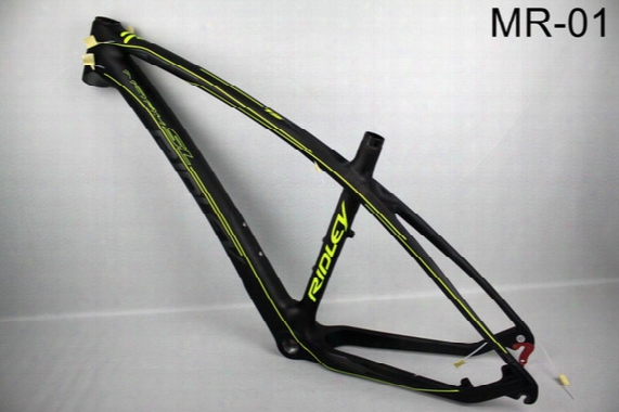 2017 New Mtb Bike Full Carbon Fiber Bike Frame Carbon Mountain Bicycle With Frame+headset+clamp Free  Shipping