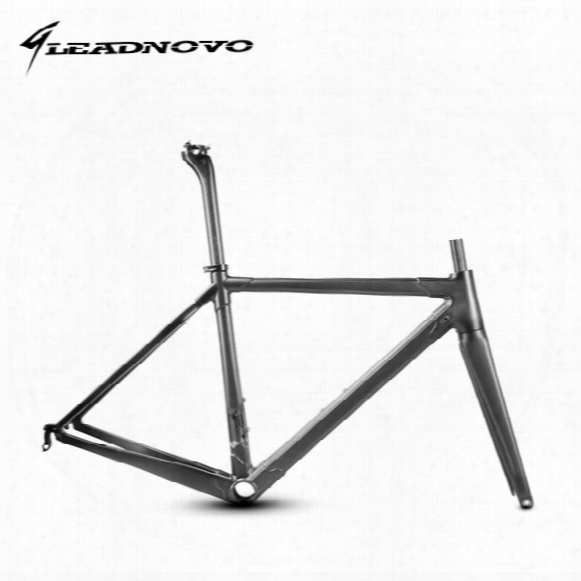 2017 New T1000 Full Carbon Fiber Road Frame Di2&mechanical Racing Bike Carbon Road Frame+fork+seatpost+headset Carbon Road Bike Leadnovo