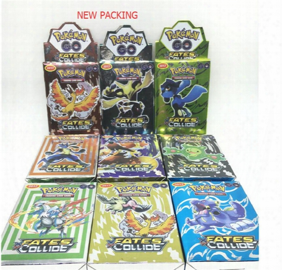 25cards/set Poke Go Trading Card Games Newest English Edition Anime Monsters Cards Board Games Card Toys Children Kids Cards Free Dhl