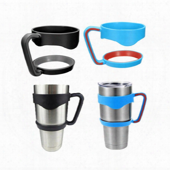 3 Colors 30oz Yeti Handle Plastic Portable For Yeti Cups Holder For 30oz Camouflage Yeti Cups Cooler Car Cups