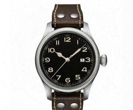 45mm Khaki Feild Pioneer Automatic A2813 H60515533 Men's Watch Mechanical Sport Army Navy Wristwatch