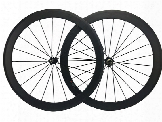 60mm Carbon Road Bicycles Wheelset 25mm Width Carbon Fiber Bike Wheel Wholesale Front And Rear Cycling Wheel Set T700 Carbon
