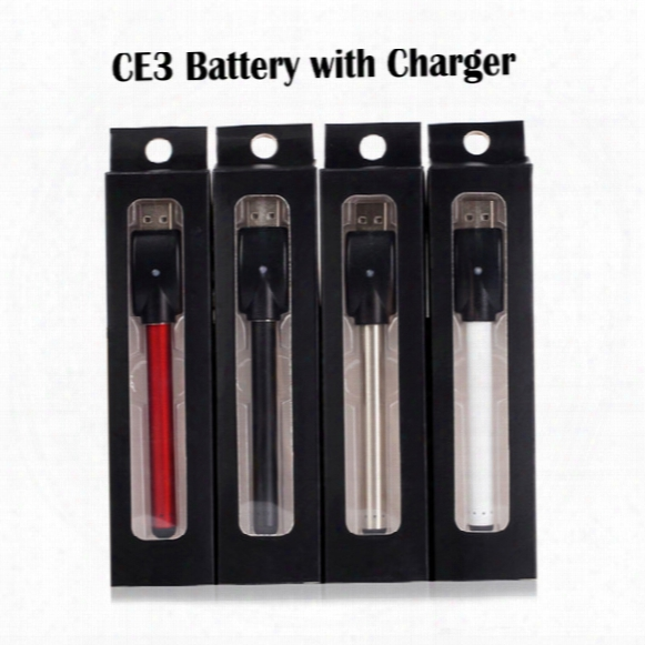 Ce3 Battery Bud O Pen Battery Touch Pen 280mah Pen With Usd Charger 510 E Cigarettes For Wax Oil Cartridge Vaporizer Colorfull Battery
