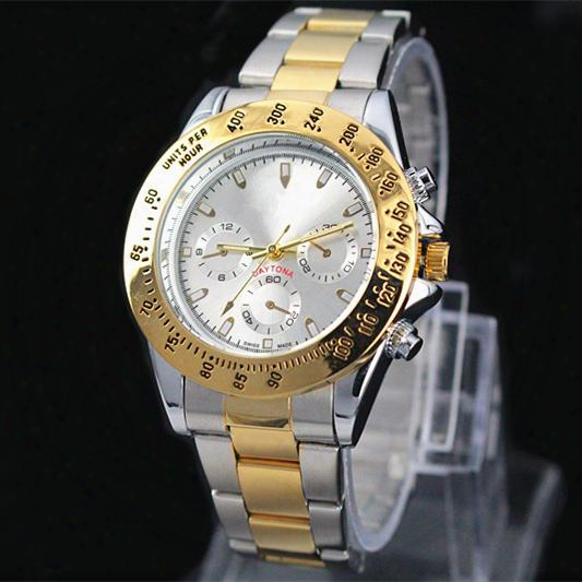 Classic Model Man Aaa Watch Luxury Gold Stainless Steel Quartz Wristwatches Famous Designer Popular Modern Watch Male Clock High Quailty