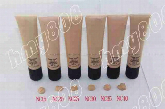 Factory Direct Dhl Free Shipping New Makeup Face Super Quality 40ml Ma40 Foundation Liquid Spf 15!6different Colors