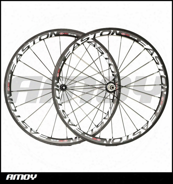 Free Shipping 38mm Clincher 25mm Width Carbon Wheels With Est 90-sl Painting Full Carbon 700c Road Bike Wheelset