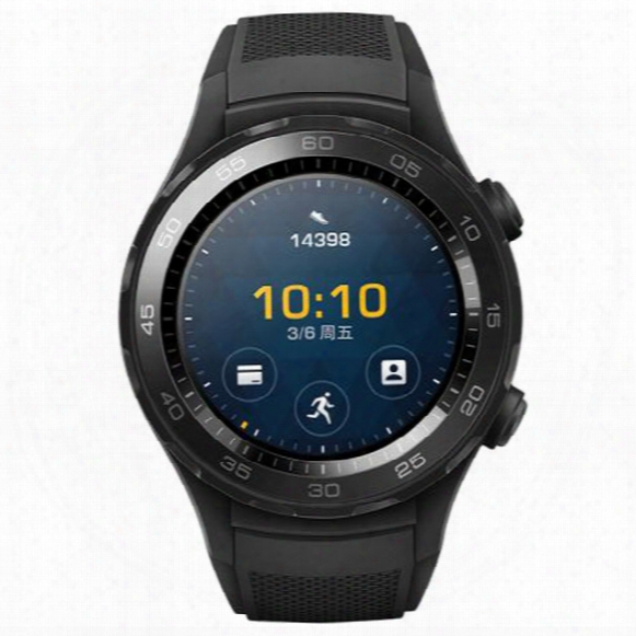 Huawei Watch 2 Smartwatch For Smartphones Carbon Black /star Grey For Android Ios With Free Shipping 2601128