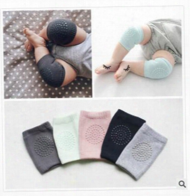 Knee Pads Baby Children Crawling 5 Colors Cartoon Safety Cotton Protector Kids Kneecaps Children Short Kneepad Baby Leg Warmers