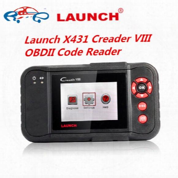 Launch X431 Creader Viii Obdii Code Reader Auto Obdii /eobd Code Reader Scanner X431 Creader 8 X-431 Creader Viii Best Dhl Free