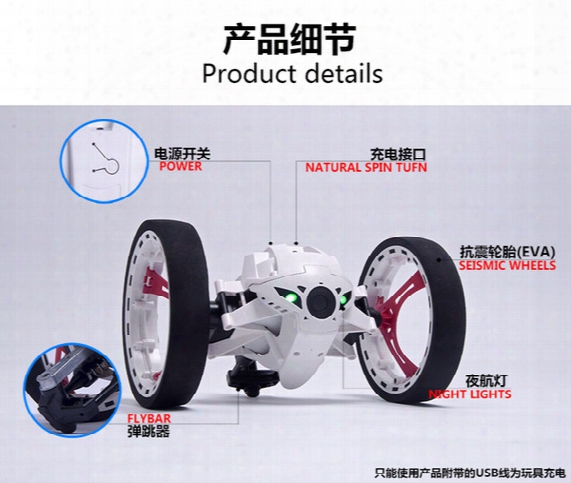 Mini Bounce Car Peg Sj88 Rc Cars 4ch 2.4ghz Strong Jumping Sumo Rc Car With Flexible Wheels Remote Control Robot Car For Gifts