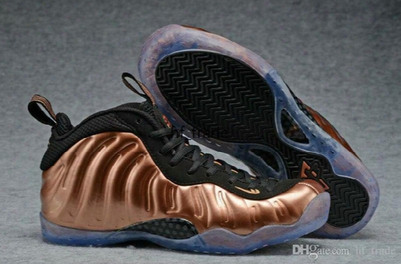 New F Pennyone Dirty Copper Men Basketball Shoes Penny Hardaway Bronze Gold Copper One Pro Galaxry Sneakers High Quality With Shoes Box